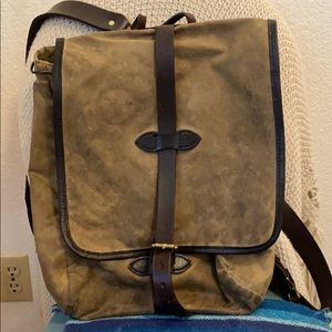 Tin Cloth Filson Backpack
